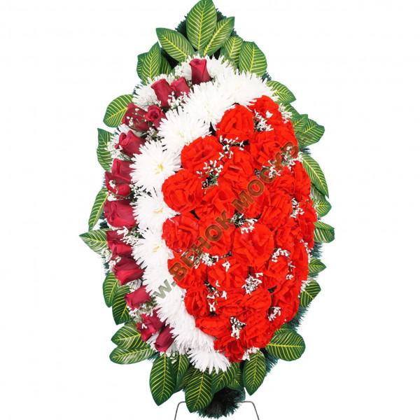 венок из искусственных цветов NEW-04