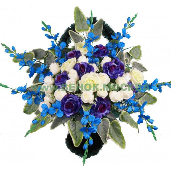 корзина из искусственных цветов АВТОРСКАЯ КРА-04