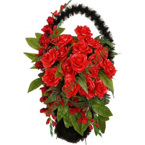 корзины из искусственных цветов ЭЛИТ КРЭ-14