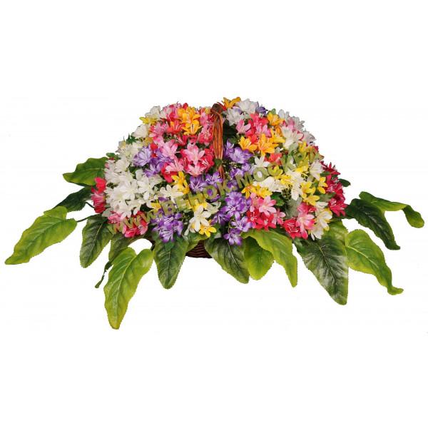 корзины из искусственных цветов ЭЛИТ КРЭ-16