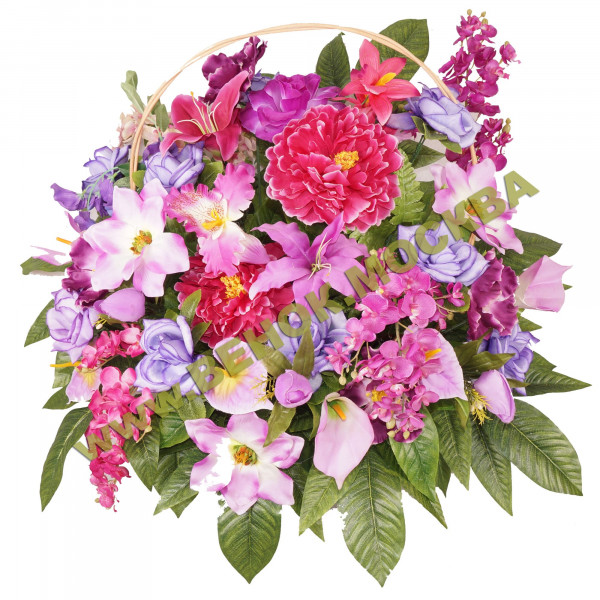 корзины из искусственных цветов ЭЛИТ КРЭ-17