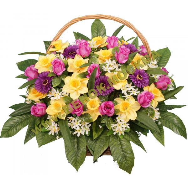 корзины из искусственных цветов ЭЛИТ КРЭ-18