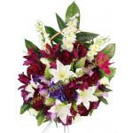 корзина из искусственных цветов ЗАКАЗ КРЗ-05