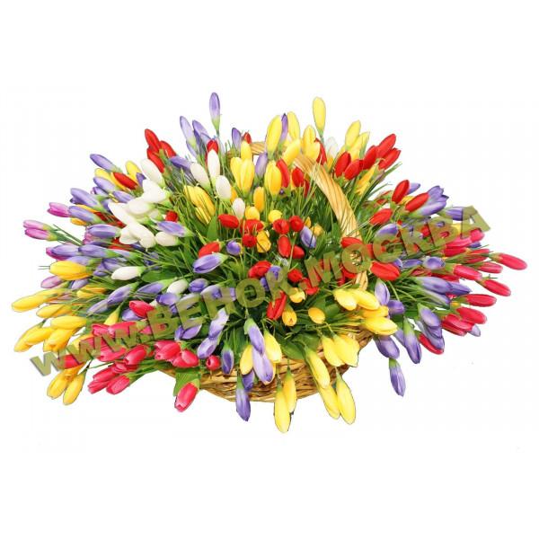 корзины из искусственных цветов ЭЛИТ КРЭ-19