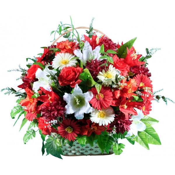 корзины из искусственных цветов ЭЛИТ КРЭ-10