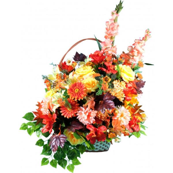корзины из искусственных цветов ЭЛИТ КРЭ-12