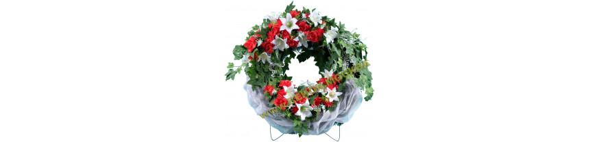 Купить венки из искусственных цветов