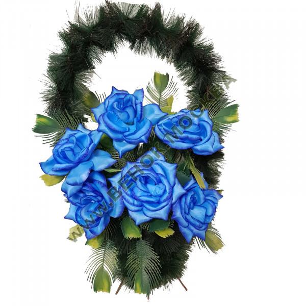 корзина из искусственных цветов СТАНДАРТНАЯ КРС-13