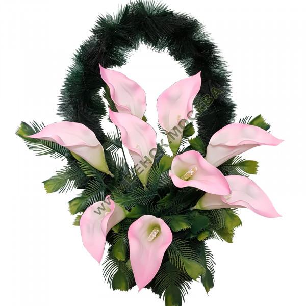 корзина из искусственных цветов СТАНДАРТНАЯ КРС-21