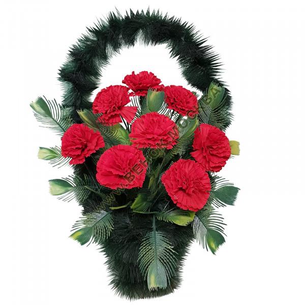 корзина из искусственных цветов СТАНДАРТНАЯ КРС-22