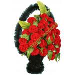 корзина из искусственных цветов ЗАКАЗ КРЗ-04