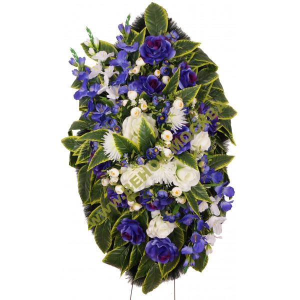 венок из искусственных цветов АВТОРСКИЙ ВИА-041
