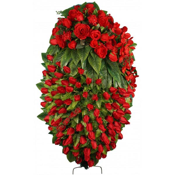 венок из искусственных цветов АВТОРСКИЙ ВИА-084
