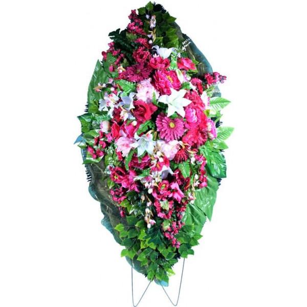 венок из искусственных цветов ЭЛИТ ВИЭ-002
