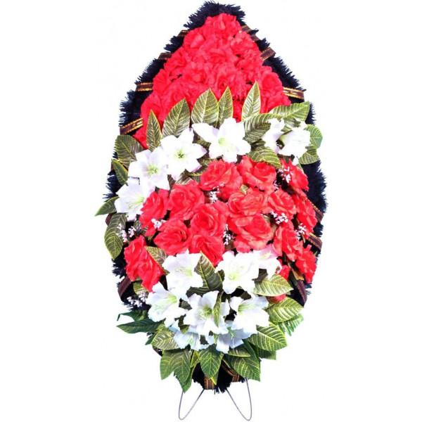 венок из искусственных цветов ЭЛИТ ВИЭ-003