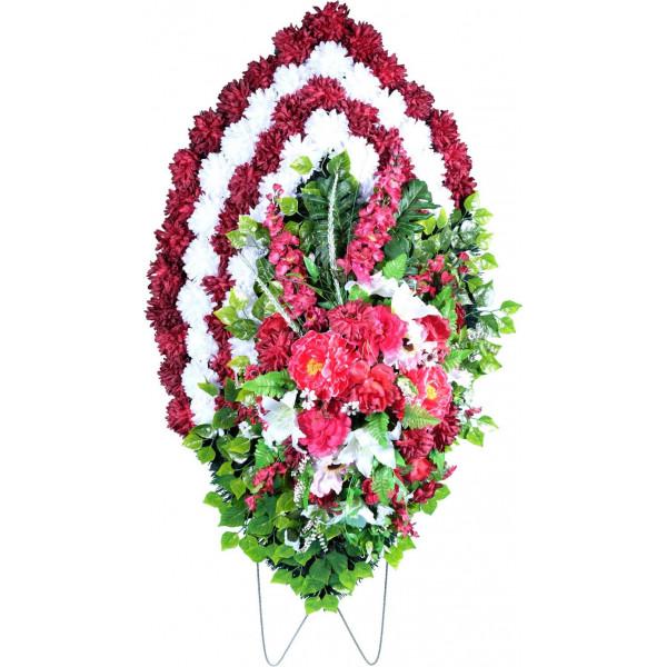 венок из искусственных цветов ЭЛИТ ВИЭ-006