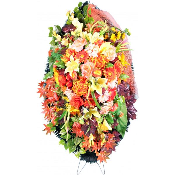 венок из искусственных цветов ЭЛИТ ВИЭ-010
