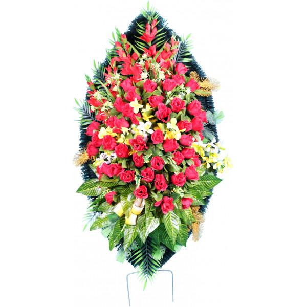 венок из искусственных цветов ЭЛИТ ВИЭ-011