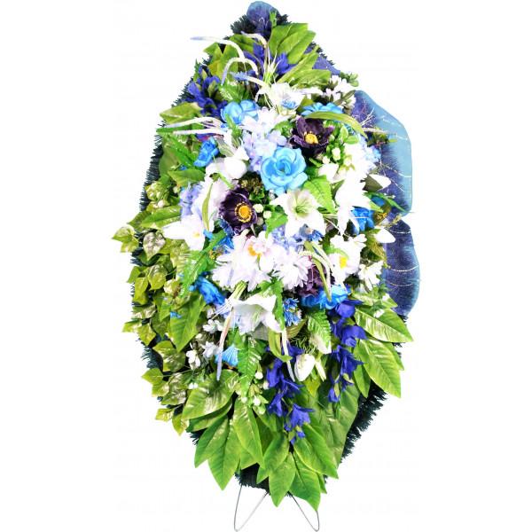 венок из искусственных цветов ЭЛИТ ВИЭ-013