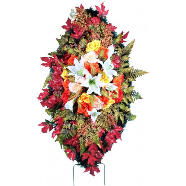 венок из искусственных цветов ЭЛИТ ВИЭ-014