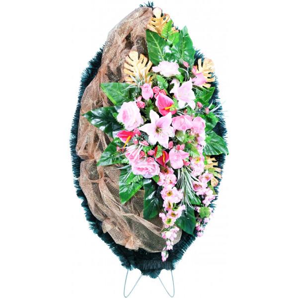 венок из искусственных цветов ЭЛИТ ВИЭ-015