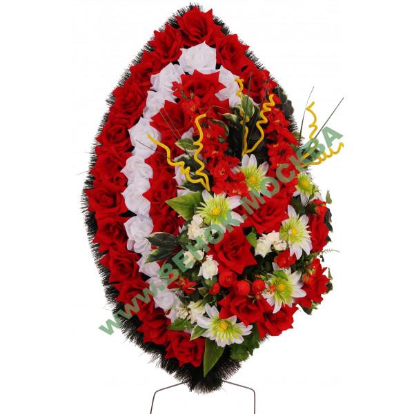 венок из искусственных цветов ЭЛИТ ВИЭ-025