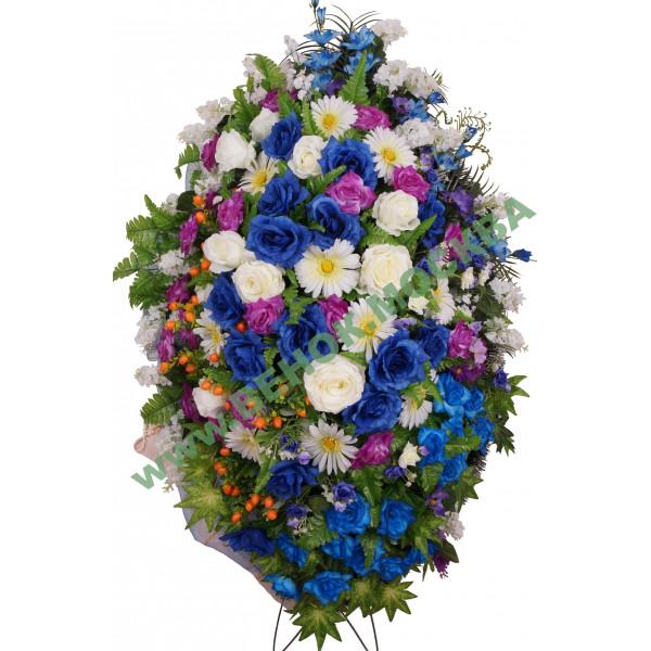 венок из искусственных цветов ЭЛИТ ВИЭ-032