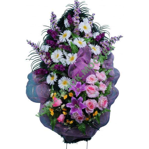 венок из искусственных цветов ЭЛИТ ВИЭ-035