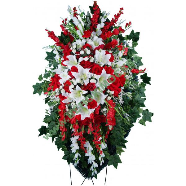 венок из искусственных цветов ЭЛИТ ВИЭ-038