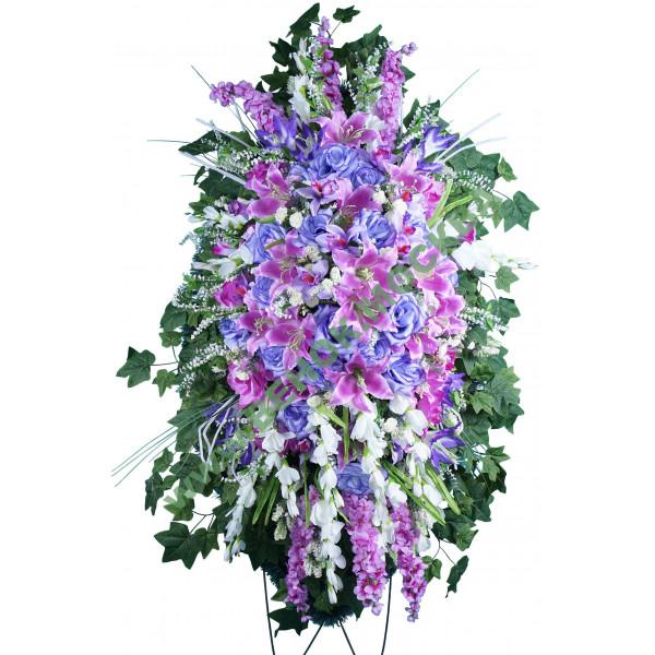 венок из искусственных цветов ЭЛИТ ВИЭ-039
