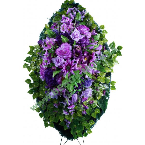венок из искусственных цветов ЭЛИТ ВИЭ-043