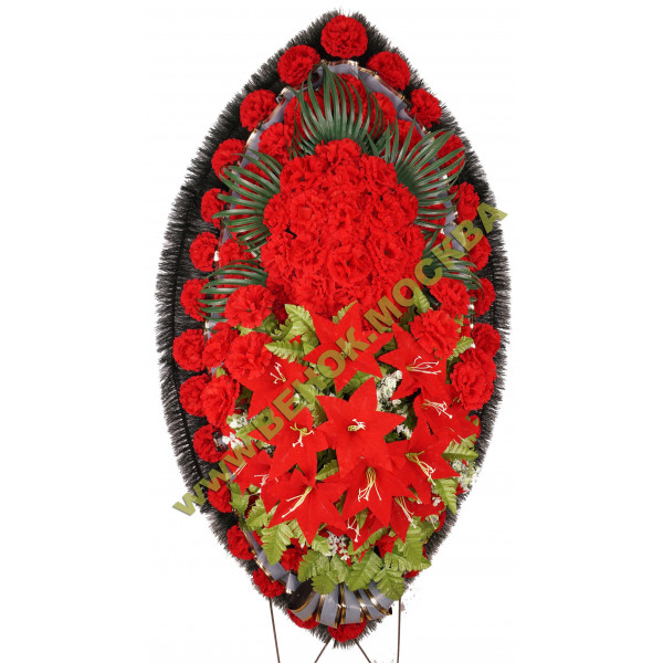 Венок из искусственных цветов ЭЛИТ ВИЭ-054