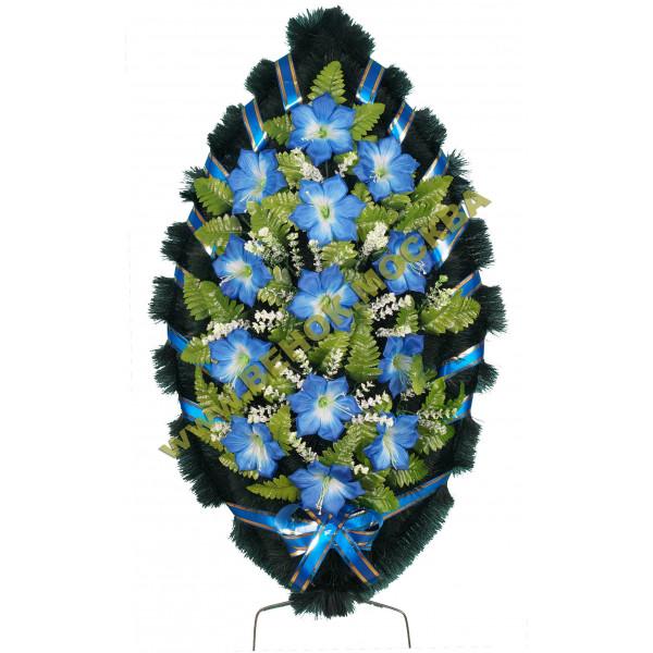 венок из искусственных цветов СТАНДАРТ ВИС-003