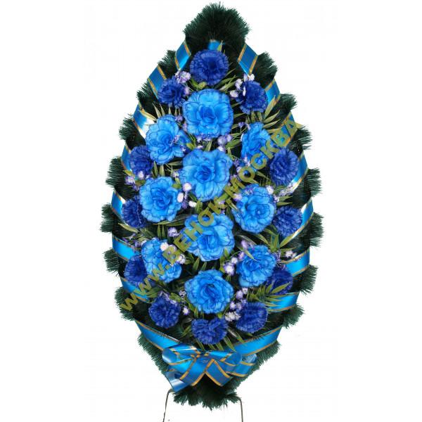 венок из искусственных цветов СТАНДАРТ ВИС-004