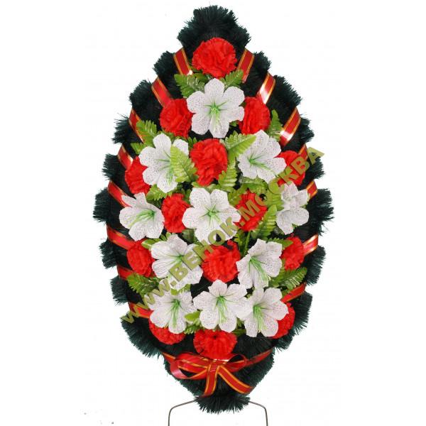 венок из искусственных цветов СТАНДАРТ ВИС-007