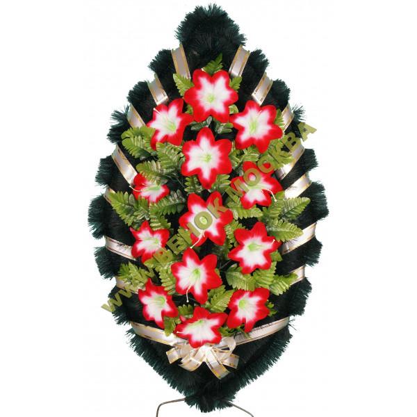 венок из искусственных цветов СТАНДАРТ ВИС-008