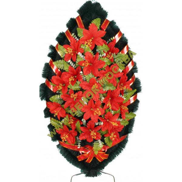 венок из искусственных цветов СТАНДАРТ ВИС-009