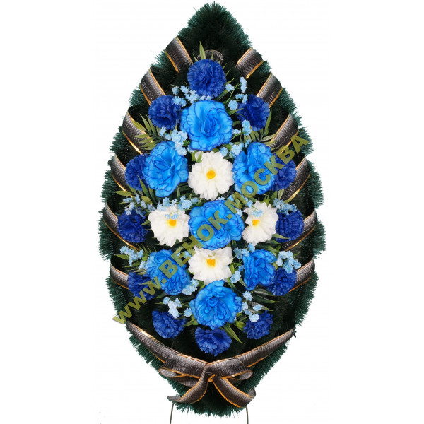 венок из искусственных цветов СТАНДАРТ ВИС-011