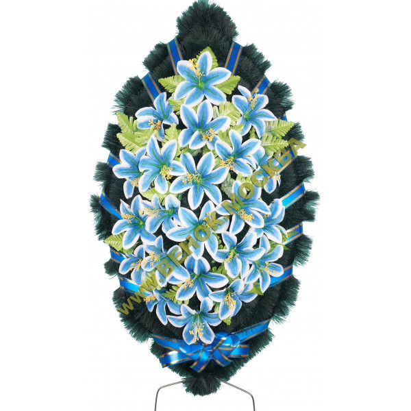венок из искусственных цветов СТАНДАРТ ВИС-015