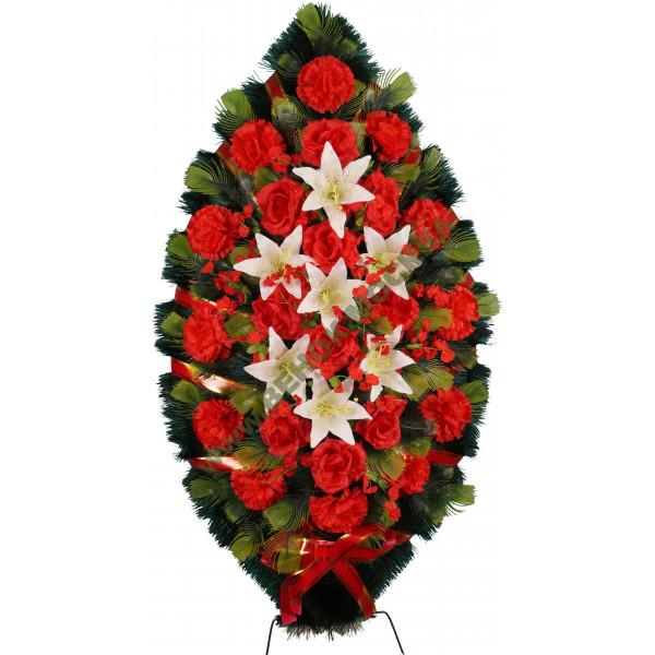 венок из искусственных цветов СТАНДАРТ ВИС-025