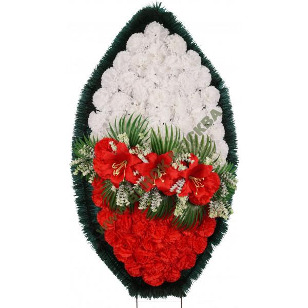венок из искусственных цветов СТАНДАРТ ВИС-026