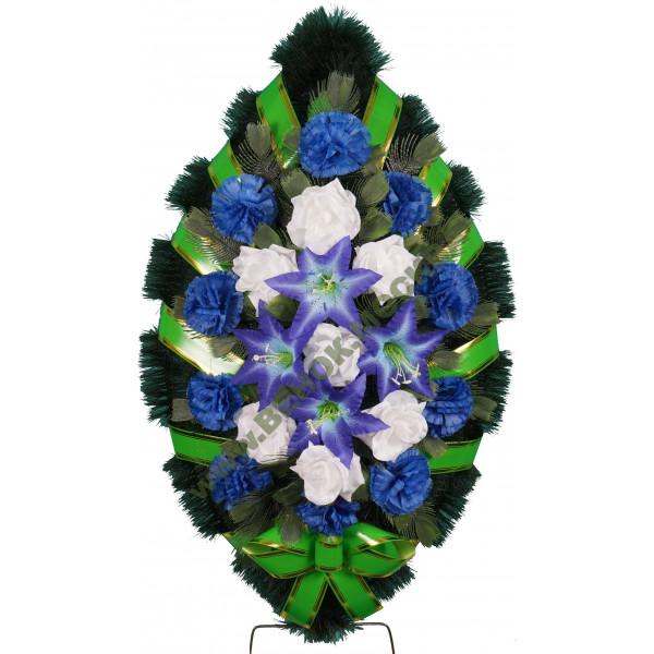 венок из искусственных цветов СТАНДАРТ ВИС-027