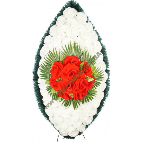венок из искусственных цветов СТАНДАРТ ВИС-028