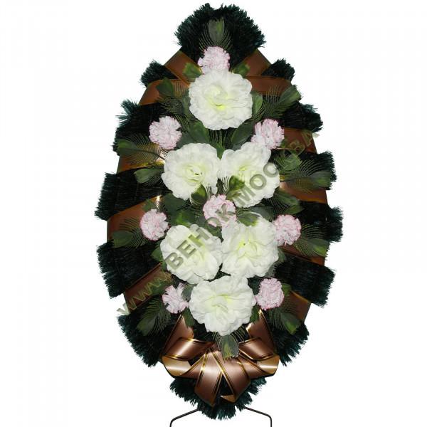 венок из искусственных цветов СТАНДАРТ ВИС-030