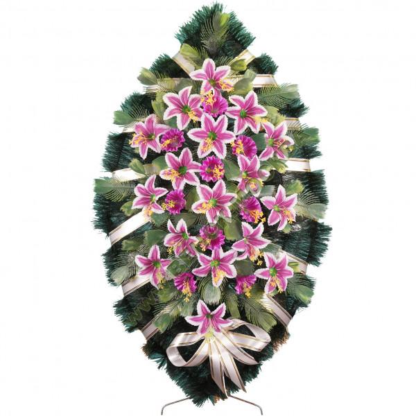 венок из искусственных цветов СТАНДАРТ ВИС-031