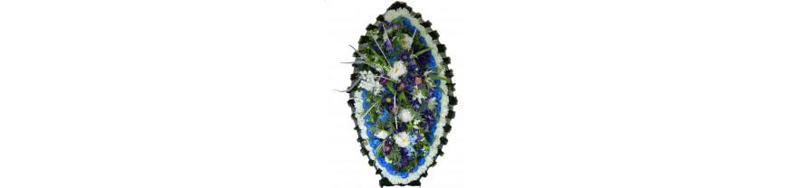Купить ритуальные венки из искусственных цветов в Москве
