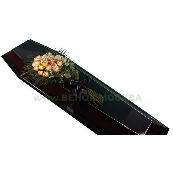 букет траурный из живых цветов БЖ-01