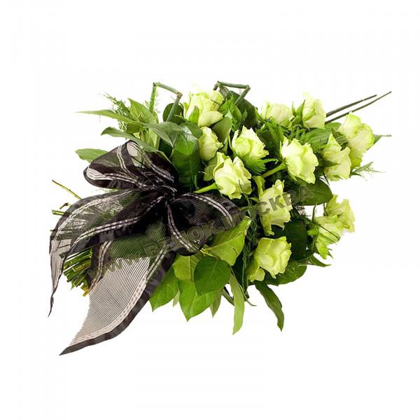 букет траурный из живых цветов БЖ-10