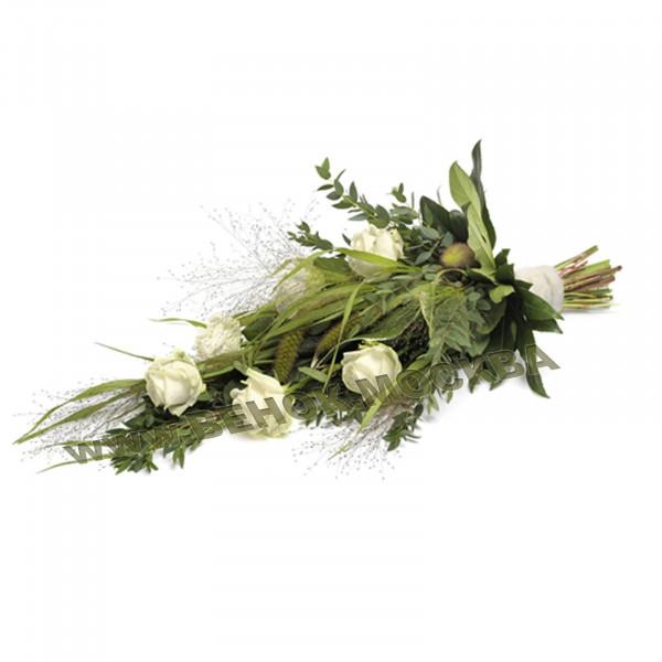 букет траурный из живых цветов БЖ-15