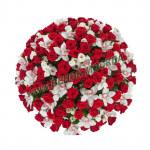 корзина из живых цветов КРЖ-38